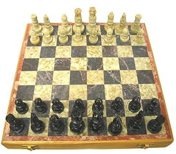 Amazoncom Soapstone Chess Set by OL Toys Games