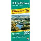 RuhrtalRadweg, Winterberg - Duisburg: Leporello Radtourenkarte mit Ausflugszielen, Einkehr- & Freizeittipps, wetterfest, reissfest, abwischbar, GPS-genau. 1:50000 (Leporello Radtourenkarte / LEP-RK)