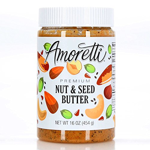 Amoretti Premium Nut and Seed Butter, 16 Ounce
