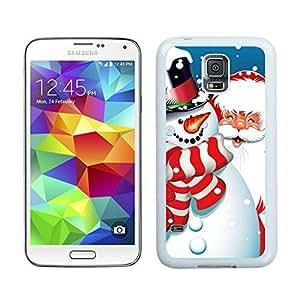 Customized Santa Claus White Samsung Galaxy S5 Case 12