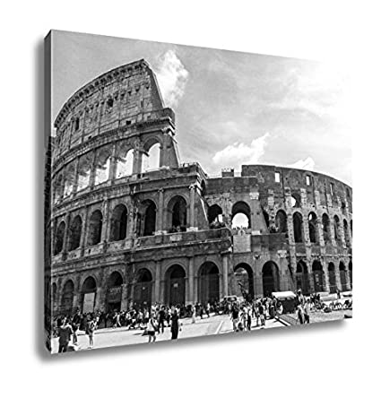Ashley canvas colosseum in rome italy wall art home decor ready to hang