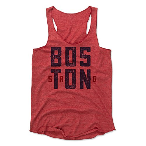 500 LEVEL Boston Women's Tank Top - Small Red - Boston (Boston Womens Tank Top)