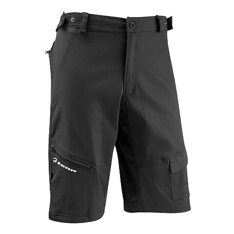 6 pocket shorts black