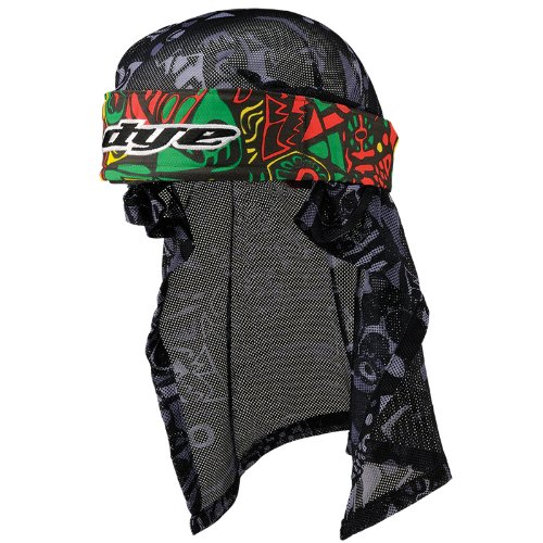 Paintball Headwrap (Dye Head Wrap - Eskimo Rasta)