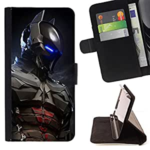 For Samsung Galaxy S3 III I9300 Future Bat Superhero Leather Foilo Wallet Cover Case with Magnetic Closure