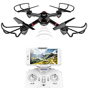 DROCON Drone for Beginners X708W Wi-Fi FPV Training Quadcopter with HD Camera by DROCON
