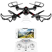 #LightningDeal 82% claimed: DROCON Drone For Beginners X708W Wi-Fi Fpv Training Quadcopter With HD Camera Equipped With Headless Mode One Key Return Easy Operation