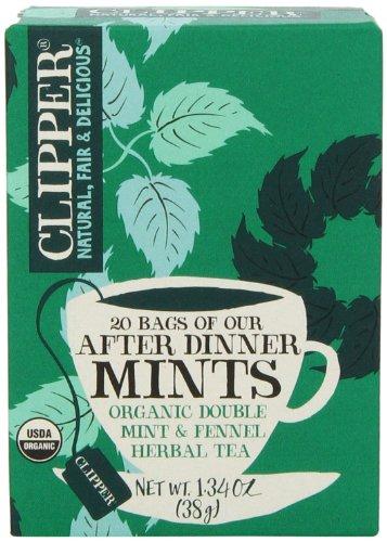 Clipper Fair Trade Organic Tea, 20 Count (Pack of 6)