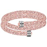 Swarovski Crystaldust Double Bangle - Pink - 5273640