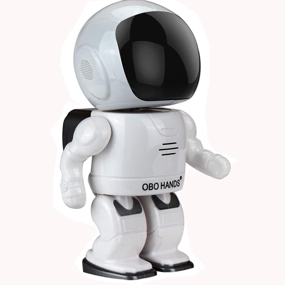 OBO HANDS Robot 960P 2MP IP Caméra WIFI Horloge Réseau CCTV HD Bébé Moniteur Télécommande Sécurité à Domicile Vision Nocturne Deux Voies Audio