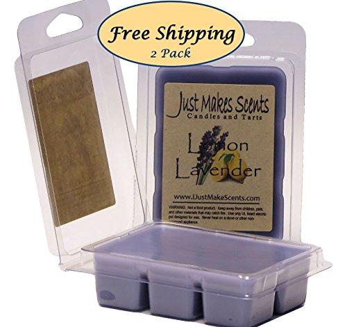2 Pack - Lemon Lavender Scented Wax Melts | Long Lasting Sce