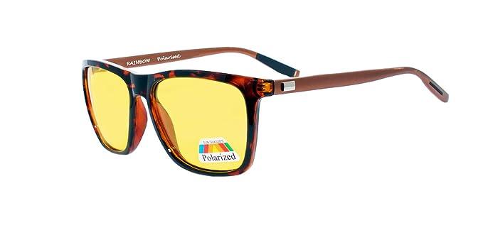 rainbow safety Gafas Visión Nocturna Conducir Polarizadas RWNP2: Amazon.es: Ropa y accesorios