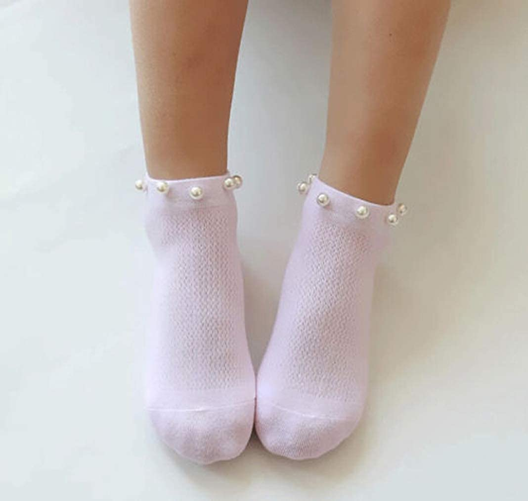 5 Pairs Pack Baby Girl Socks Cute Children Cotton Socks for 1-12 Years Old