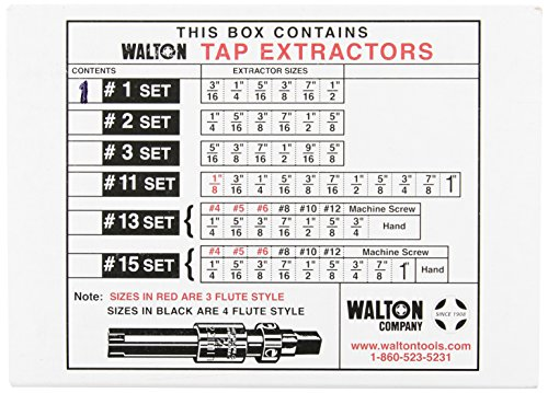 Walton Tools 18001 Tap Extractor Set by Walton Tools (Image #2)