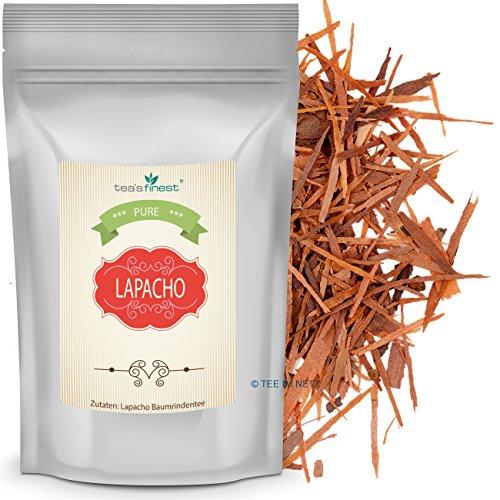 Lapacho Baumrindentee, 100% innere rote Rinde aus nachhaltigem Anbau (250 Gramm)