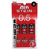 Pentel Ain Stein Mechanical Pencil Lead, 0.5mm B, 40 Leads x 3 Pack (XC275B-3P)