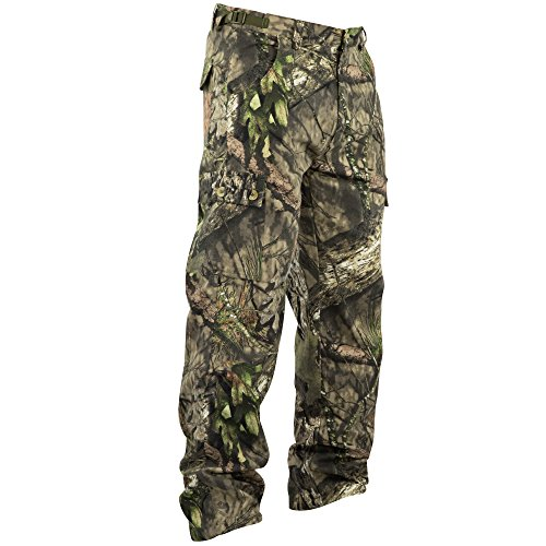 Mossy Oak Hunting Clothes - Mossy Oak Men's Camouflage Chamois Hunting Pants Available In Bottomland & Break-Up Country