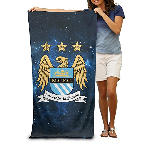 Quick Dry Manchester City Beach Blanket -multifunctional Blanket:Suit For Swimming,backpacking,sports,camping,picnic Etc - Large Microfiber Travel Towel - 80cm130cm ()
