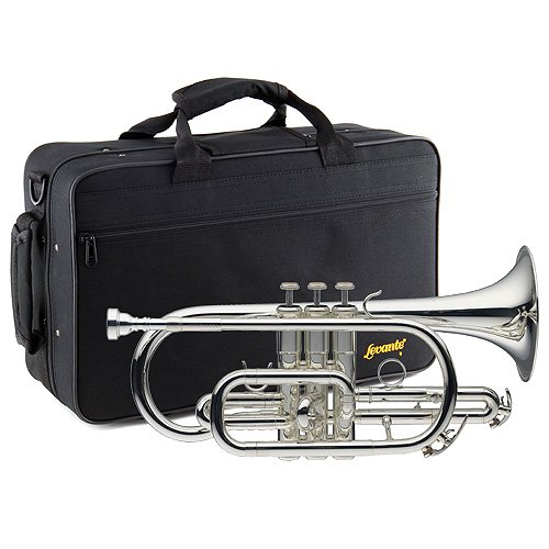 Bb CORNET,SILVER PLATED+SC . by PlayRecord