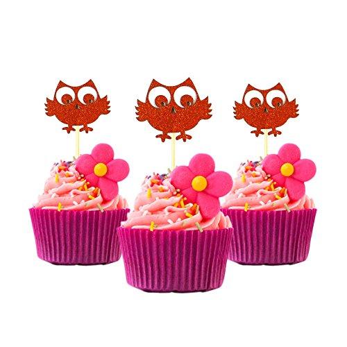 Cupcake Topper COPPER Decoration Graduation product image