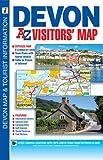 Devon Visitors Map (A-Z Visitors Map)