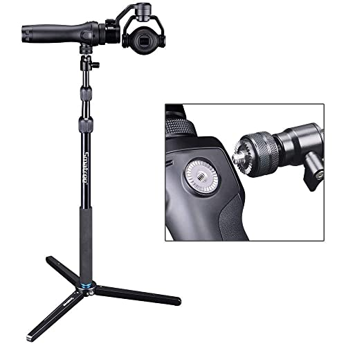 Smatree SmaPole DS1 Extendable Stick with Tripod for DJI OSMO, OSMO+, OSMO 2, OSMO MOBILE, OSMO PRO/RAW
