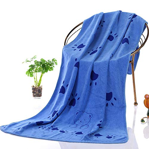 Pet Towel Microfiber Nano Pet Bath Towel Ultra-Absorbent Easy-to-Clean for Small, Medium, Large Dogs and Cats