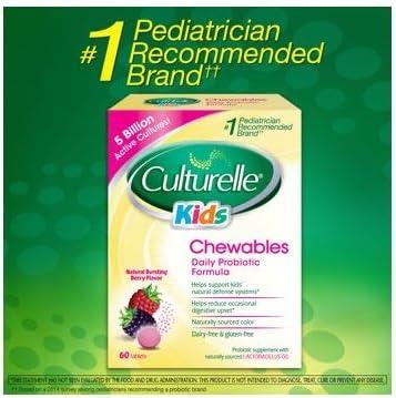 Culturelle Chewables Probiotic Tablets 1PACK
