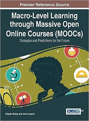 Macro Level Learning Through Massive Open Online Courses Moocs