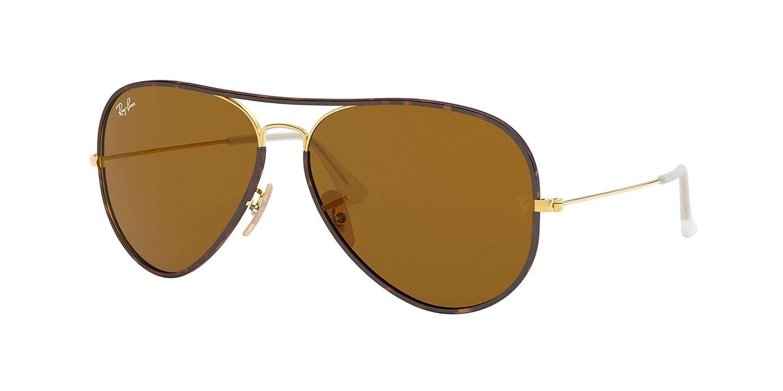 Ray-Ban Mens Aviator Full Color Aviator Sunglasses