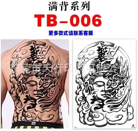 Zhuhuimin 3 unids Espalda Completa Tatuaje Tatuaje de Brazo ...