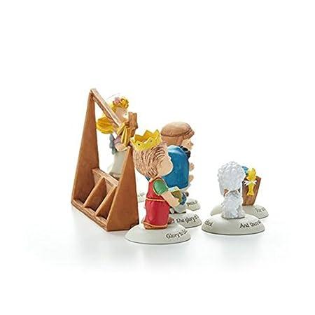 Hallmark 2014 Glad Tidings Nativity Peanuts Gallery Figurines – Set of 7 – XKT2422