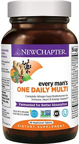 Multivitamins: New Chapter Every Man