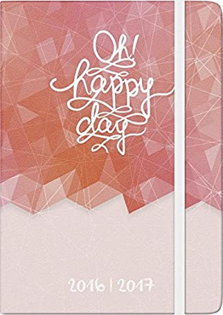 Brunnen - Agenda escolar (2017 Hard Cover Happy Day textil ...
