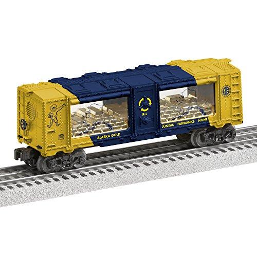 Cars Train Gauge - Lionel Alaska Gold Mint Car Train