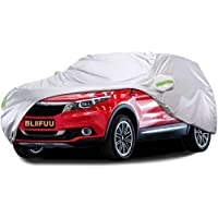 BLIIFUU Car Cover,SUV Protection Cover Breathable Outdoor Indoor for All Season All Weather Waterproof/Windproof…