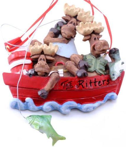 Kurt Adler Family Of 3 Sled Ornament