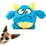 NEILDEN Dog Plush Ball Toys for Durable Squeaky Plush Doll Stuffed Animal Toy Interactive Shake Plush Pet Toys Bouncer Dog Toys for Exercise Entertainment
