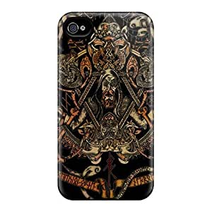 Perfect Hard Phone Case For Iphone 4/4s With Unique Design Lifelike Einherjer Band Series EricHowe