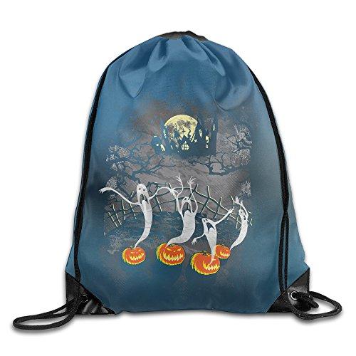 [GYM Halloween Ghosts Drawstring Backpack Bag] (Nerd Halloween Costumes Guy)