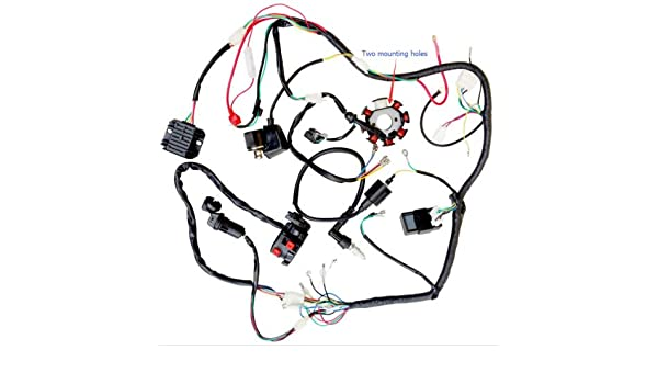 Amazon.com: 200CC 250CC ATV QUAD FULL ELECTRICS CDI COIL RECTIFIER on baja boat wiring diagram, baja atv tires, mini baja wiring diagram, baja motorsports wiring diagram, baja enduro wiring diagram, baja 90 wiring diagram, go kart wiring diagram, baja 150 wiring diagram,