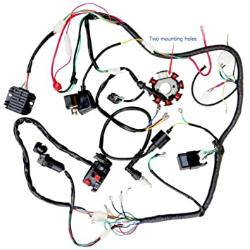 200cc 250cc Atv Quad Full Electrics Cdi Coil Rectifier Wiring