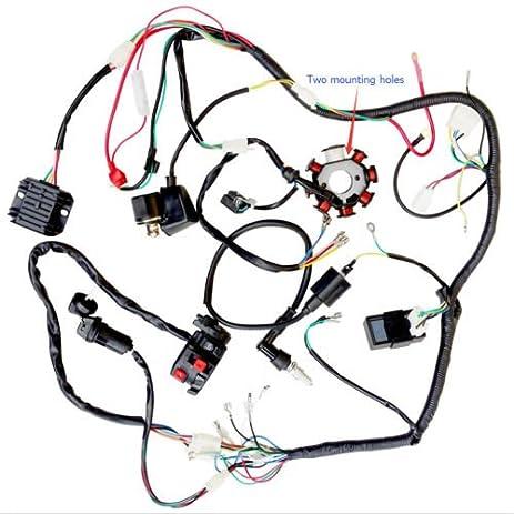51612XJsTQL._SY463_ amazon com 200cc 250cc atv quad full electrics cdi coil rectifier auto electrical wiring diagrams at honlapkeszites.co