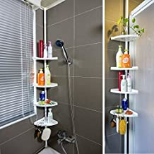 Corner Storage Shelf Washroom Shower Caddy Rack Organizer Adjustable Extendible