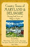 Country Towns of Maryland and Delaware, Judy Colbert, 0658001787