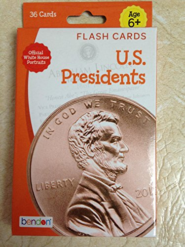 U.S. Presidents Flash Cards Pack of 36 (American President Flash Cards)