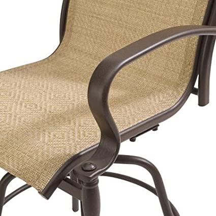Mainstays Wesley Creek - Juego de mesa de jardín con sillas: Amazon.es: Jardín