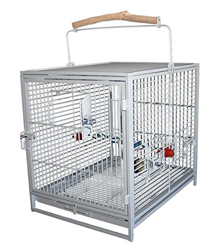 Montana Travel Cage, 47 x 38 x 46 cm, Platinum PEUIR K32005