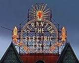 Scranton, PA - Photo - Historic Electric City sign, restored in 2008, shines again- Highsmith