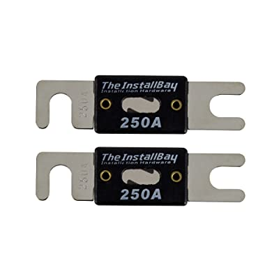 Install Bay ANL250-10 - 250 Amp ANL Fuses (10 Pack): Car Electronics